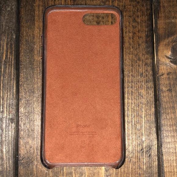 Accessories Apple Genuine Leather Iphone 8 Case Poshmark